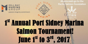 Port Sidney Marine Salmon Tournament announcement