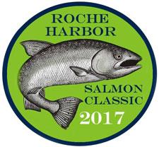 Roche Harbor Salmon  Classic 2017 logo