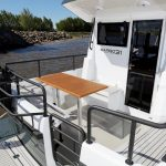 Sargo 31 stern seating area