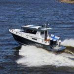 Sargo 31 open water running