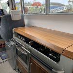 Sargo 33 kitchen interior