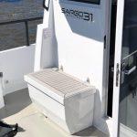 Sargo 31 exterior seating and storage